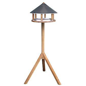 Esschert Design Birdhouse with Triangular Zinc Roof FB431