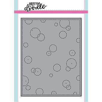 Heffy Doodle Stitched Bubble Background Dies
