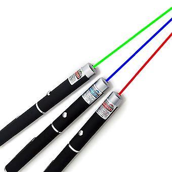 2021 neue Laser Sight Pointer 5mw High Power Grün blau rot Punkt Laser Licht Stift