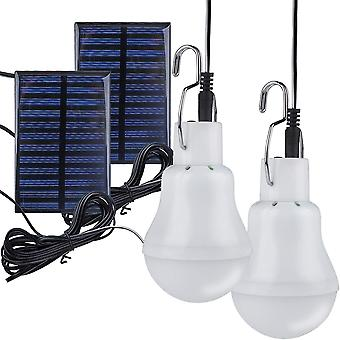 Solar Powered Led Light Bulb, Gerui Portable Lantern Lamp Spotlight Indoor Outdoor Garden Office