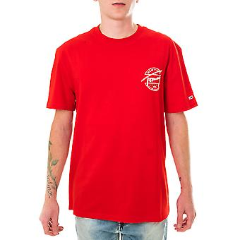 Homme tommy jeans tjm dos logo t-shirt dm0dm08350.xnl