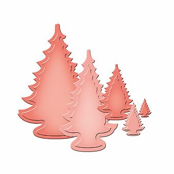 Spellbinders Cutting Dies - 2013 Holiday Trees Spellbinders Nestabilities