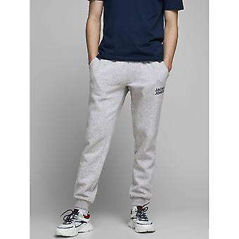 Jack & Jones Gordon Soft Sweatpants - Light Grey Melange