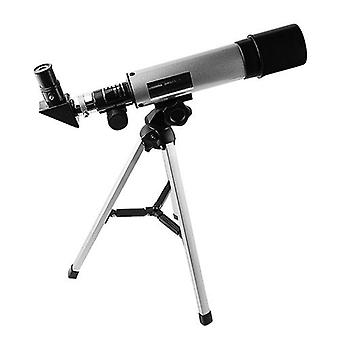 高精細屈折天体望遠鏡三脚50mm絞り360mm焦点距離90X最大拡大