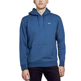 Vans Mens Basic Casual Pullover Sweatshirt Hoody Hoodie - Moroccan Blue
