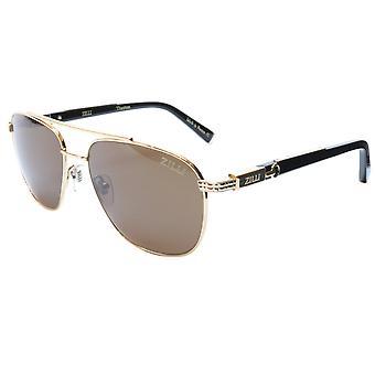 ZILLI Solglasögon Titanacetat Polariserat Ljust Guld Frankrike ZI 65020 C01