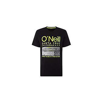O'NEILL LM Surf - Camiseta de manga corta, camiseta para hombre, Color: Black out, XS