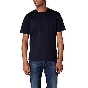 Trigema Deluxe T-Shirt, Navy Blue, MEN's XXXXXL