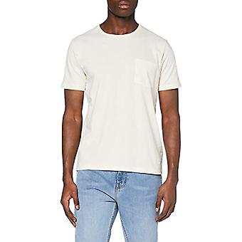 Lee Sustainable Tee T-Shirt, Beige (Ecru Mele 48), M Men's