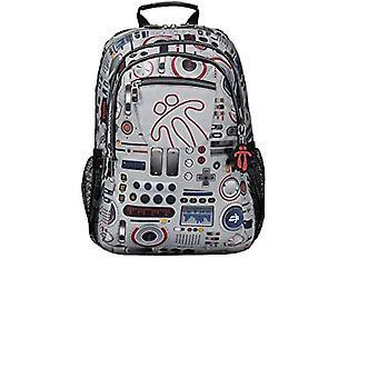 TOTTO Mochila Marcador Casual Backpack 40 centimeters 25 Multicolor (Multicolor)(1)