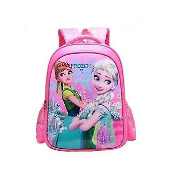 ديزني المجمدة حقيبة مدرسية إلسا آنا الفتيات حقيبة ظهر لطيف
