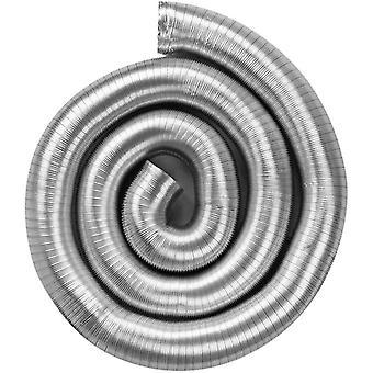 neverest Semiflex 80mm 3m Lüftungsschlauch Alu Flex Rohr