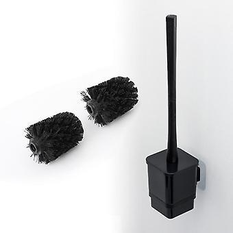 Modern Bathroom Corner Wall-mounted Soft Cleaning Brush, Household Toilet Rack