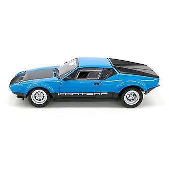 De Tomaso Pantera GT4 in Blue and Black (1:18 scale by Kyosho 08853BL)