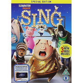 Chanter un DVD