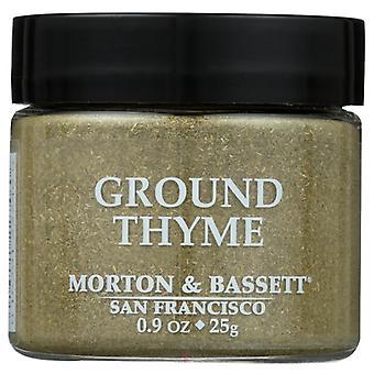 Morton & Bassett Thyme Ground, Case of 3 X 0.9 Oz