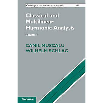 Klassieke en multilineaire harmonische analyse door Camil Muscalu