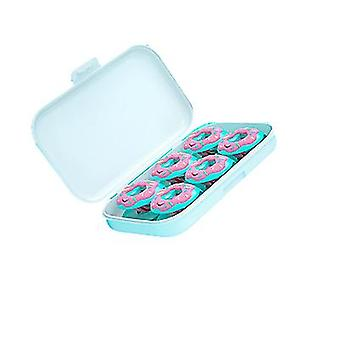 6 Pieces Of New Donut Quilt Holder Needle-free Non-slip Quilt Cover Holder(Blue)