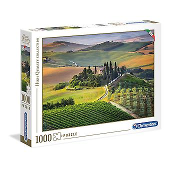 Clementoni Tuscany High Quality Jigsaw Puzzle (1000 Pieces)