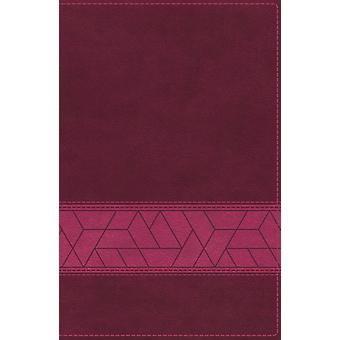 NIV Storyline Bible Leathersoft Pink Thumb Indexed Comfort Print  Each Story Plays a Part. See How They All Connect. by General editor Emmanuel Foundation
