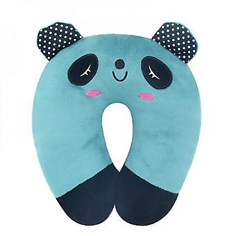 Mimigo Travell Pillow For Kids Toddlers - Soft Neck Head Chin Support Pillow, Cute Animal, Comfortable In Any Sitting Position For Airplane,car,train,