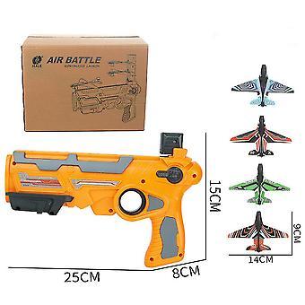 KatapultBlase Flugzeugwerfer Segelflugzeug (Orange)