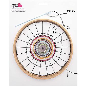 Rund vävstol med hål - 21cm diameter
