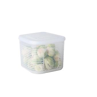 5Pcs Kitchen Organizer Grains Beans Storage Jar Tank Keep Fresh Food Storage Box Refrigerator Food