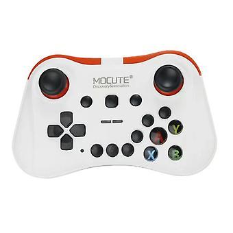 Chronus Mocute 054/056/508/050 Bluetooth Gamepad Android VR Control Lever Mobile Joystick adequado para smartphones I Laptops Desktop (Branco)