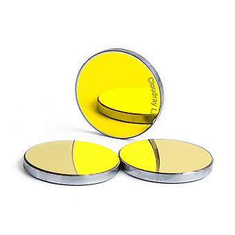 Laser Si Reflective Mirrors, Engraver Gold-plated Silicon Reflector Lenses