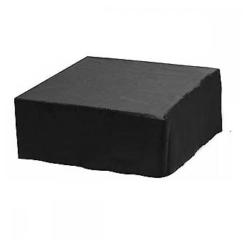 Waterproof Polyester Square Hot Tub Cover Outdoor Spa Covers Square Hot Tub Cover(Black)