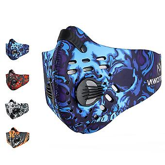 Halloween Bike Motorcycle Face Mask Reusable Washable Protection Cover Masks