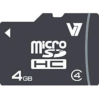 Scheda Micro SD V7 VAMSDH4GCL4R-2E 4GB