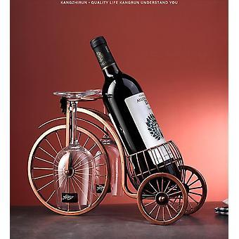 Creatieve metalen wijnrek hangende wijnglas houder bar display stand beugel decor wijnrek wijn