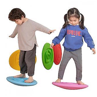 מאזן מאמנים ילד מתנדנד איזון לוח איזון יציבות מאמן צהוב