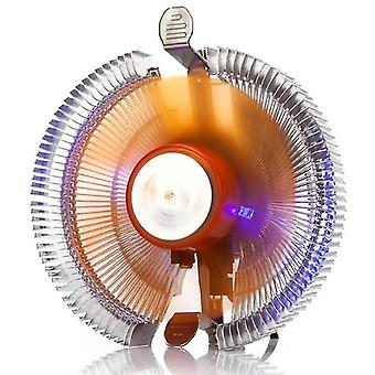 Computer system cooling parts led heatsink silent cpu cooler for core intel 115x series/775/amd am3/am4 pc