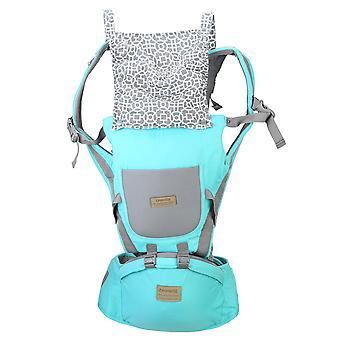 Mère Baby Strap Taille Tabouret respirant Tabourets multifonctions taille pour enfants Enfants Tenant des fournitures - Vert