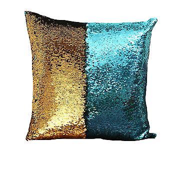 Silktaa Double-sided Sequin Pillowcase Decorative Cushion Pillowcase