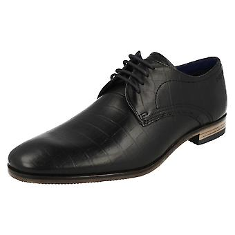 Mens Bugatti Smart formele Lace Up schoenen 312-10501-1000-1000