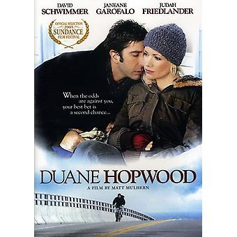 Duane Hopwood [DVD] USA import