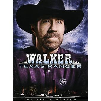Walker Texas Ranger: Season 5 [DVD] USA import