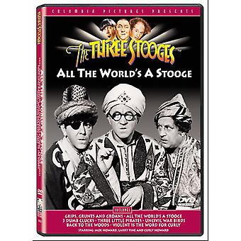Three Stooges - All the World's a Stooge [DVD] USA import