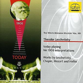 Mozart/Heller/Chopin/Leschetizky - The Welte-Mignon Mystery, Vol. 13: Theodor Leschetizky [CD] USA import