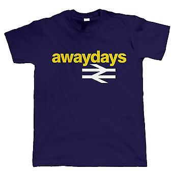 Away Days, Mens Football Tshirt