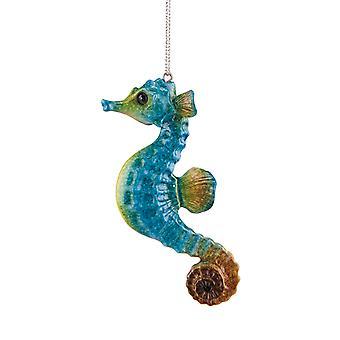 Cozumel Reef blå Seahorse Christmas ferie Ornament