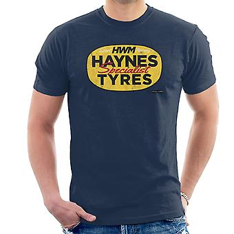 Haynes Brand HWM Specialist Tyres Men's T-Shirt