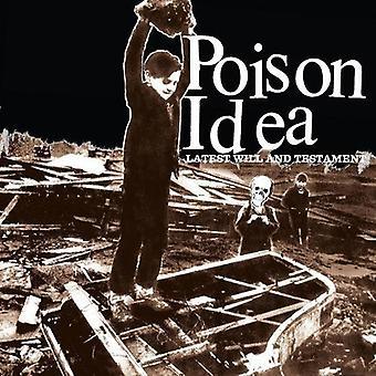 毒のアイデア - 最新の意志・遺言 [ビニール] USA 輸入