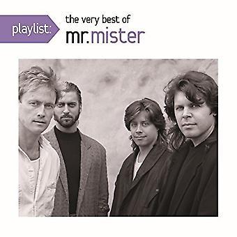 Importazione di Mr Mister - Playlist: The molto migliori dei Mr. Mister [CD] Stati Uniti d'America
