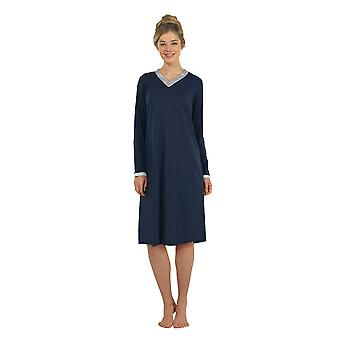 BlackSpade 6104-050 Women's Navy Robe Loungewear Bath Dressing Gown