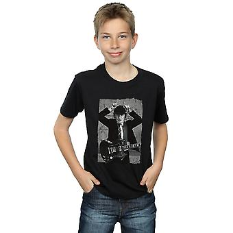AC/DC pojat Angus Young ahdistunut Photo T-paita